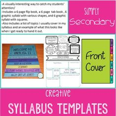 Syllabus Template  Syllabus Template Blank Canvas And Design
