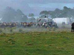 Filming Culloden S3 Voyager
