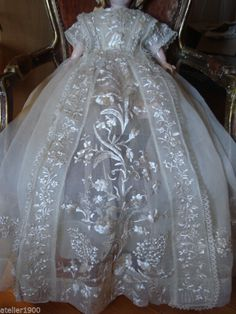 Beautiful Victorian Christening Gown