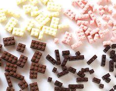 Chocolate LEGOs? Dreams DO come true.