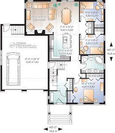 Classique, Champêtre | W3273 | Maison Laprise - Maisons pré-usinées