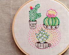 Modern Embroidery Pattern by NaNee