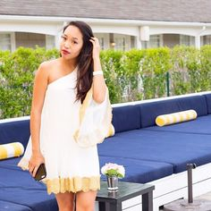 Throwing it back to the White Party for @bellanycmag. This @mestiza_ny dress is still one of my absolute favorites!