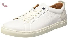 Tommy Hilfiger M2285ount 11a, Sneakers Basses Homme, Blanc (White 100), 43 EU - Chaussures tommy hilfiger (*Partner-Link)