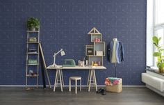 Hei,+katso+tätä+Rebel+Wallsin+tapettia,+Perfect+Fit,+Royal+Blue!+#rebelwalls+#Tapetti+#Kuvatapetit