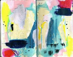 art journal by ashley g