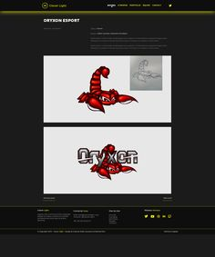 Page Projet