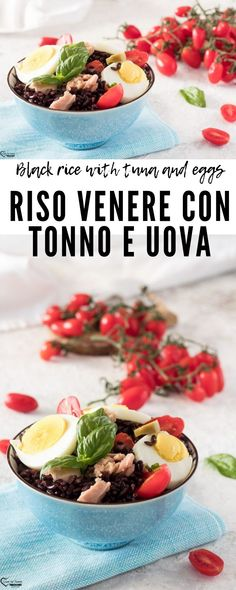 Tuna Rice Salad, Rice Salad Recipes, Healthy Recipes, Feta, Tuna And Egg, Spaghetti Salad, Latest Recipe, Food Allergies, Gourmet