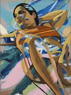 David Salle's Look (2017). © David Salle/Licensed by VAGA, New York, NY. Image courtesy of the artist and Skarstedt, NY.