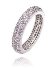 alianca cravejada zirconias semi joias de luxo Últimas Tendências De Moda,  Brilho, Qualidades, 1c9af8eed2