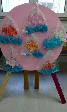 use to display activity fish good Kids Crafts, Summer Crafts, Toddler Crafts, Diy And Crafts, Arts And Crafts, Paper Crafts, Ocean Crafts, Animal Crafts, Preschool Crafts