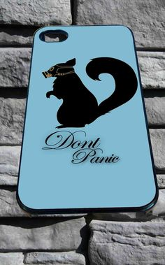 Don't Panic for iPhone 4/4s, iPhone 5/5S/5C/6, Samsung S3/S4/S5 Unique Case *76*