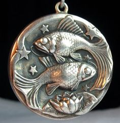 Georg Jensen Pisces Charm in Sterling Silver