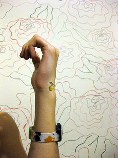 315/365 Pretend Tattoo | Sofia and Cindy and I have been tal… | Flickr
