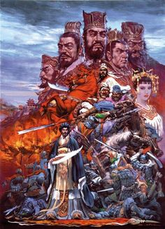 noriyoshi ohrai dynasty warrior artwork