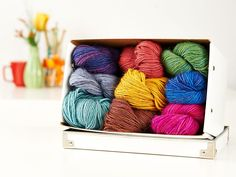 Come and see what colours SBY has left of this amazing yarn...