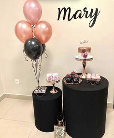 60th Birthday Cakes, 18th Birthday Party, 1st Boy Birthday, Simple Birthday Decorations, Balloon Decorations, Birthday Party Decorations, Deco Table, Birthday Balloons, 30