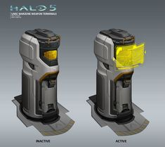 ArtStation - Halo 5 - Warzone Structures - Weapons Terminal, Albert Ng
