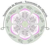 Carte heuristique des pistes d'utilisation pédagogique de Prezi selon la taxonomie de Bloom
