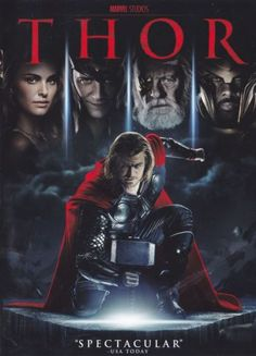 Thor - Watched this with Trevor  - we both loved it...probably for different reasons