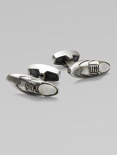 As much as I love dress shoes, this is the perfect cufflink