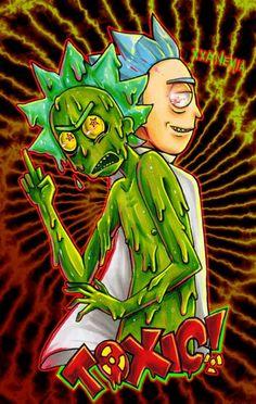 Rick and Morty • Toxic Rick