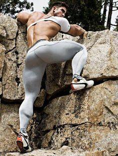 Winter Tights, Lycra Men, Mens Tights, Hommes Sexy, Running Tights, Tight Leggings, Muscle Men, Male Body, Beautiful Men