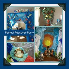 Some really great Passover ideas that can be implemented in preschool (decorations, dance like the Jewish women crossing the Red Sea...)