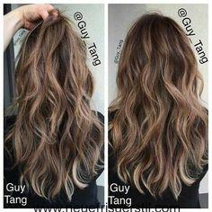 Ziemlich Welliges Haar