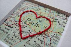 paris map diy