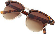 a691d74842029 Leopard Browline Retro Sunglasses  sunglasses  retro  round  cat eye   shopstyle Retro Sunglasses