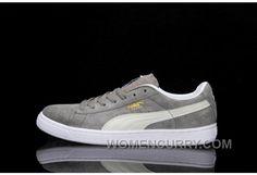 8f914bd5638 PUMA SUEDE CLASSIC Grey 36-44 For Sale