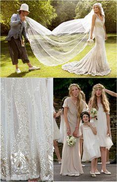 Kate Moss  #Wedding #Famous
