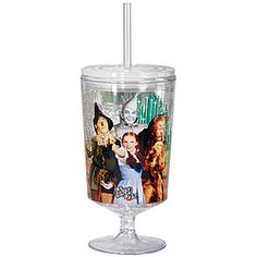 Double-walled acrylic goblet is infused with gel that keeps drinks colder longer!  Keep goblet in the freezer until use, then refreeze it for the next time!