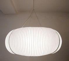 Vintage adjustable paper lamp