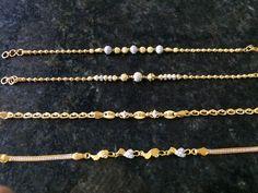 'Pulseras s Gold Gold Bracelet Indian, Gold Bracelet For Women, Gold Bangle Bracelet, Gold Bangles, Women's Bracelets, Gold Chain Design, Gold Ring Designs, Gold Mangalsutra Designs, Gold Jewelry Simple