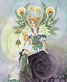 Irish Fairy by Ora Moon.