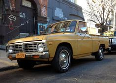1972 Ford Courier Cool Trucks, Cool Cars, Ford Courier, Classic Ford Trucks, Dream Baby, Vintage Cars, Automobile, Vehicles, Vroom Vroom