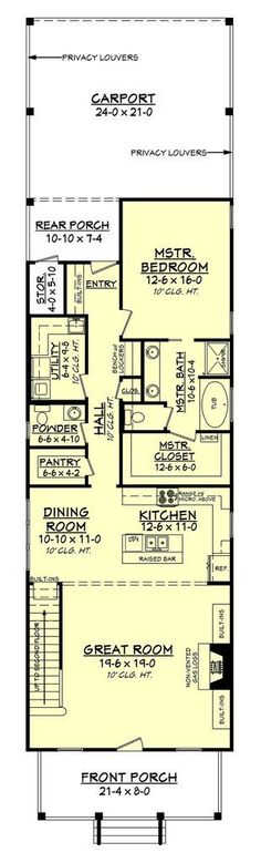 Small Low Cost Economical 2 Bedroom 2 Bath 1200 Sq Ft Single Story ...