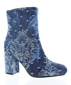 Take a look at this Denim Blue Diva Boot today!