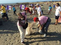 Taoyuan County Lions (Taiwan) | Lions held a caring for the earth beach clean up activity