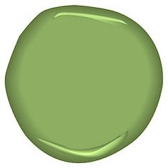 Not your garden variety green, this one adds punch to your decor and brings the outdoors in. Green Wall Color, Green Paint Colors, Wall Colors, Interior Color Schemes, Interior House Colors, Colorful Decor, Colorful Interiors, Benjamin Moore Green, Front Door Colors