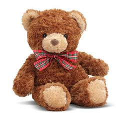 Our classic teddy bear makes the perfect gift for a new baby. Buy it now for just $12.99! www.farmingtonkids.com
