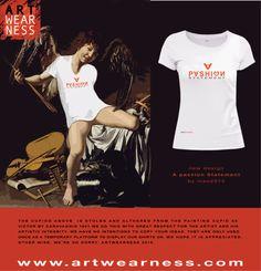 New t-shirt design  069 Passion Statement One bright moment, a deep fulfilment, a passion statement. Mao2015
