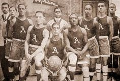 The basketball team of the Alpha Physical Culture Club, Harlem, New York City, American Athletes, New York Girls, Athletic Clubs, Culture Club, Thing 1, Brooklyn Nets, Basketball Teams, Basketball History, Cbs News