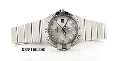 Omega Constellation Mother of Pearl Diamond Dial 123.10 (Ladies)