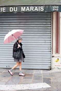 20 rainy day outfit ideas stylecaster