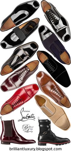 86e6e86f9df0 Brilliant Luxury ♢ Louboutin s for HIM Shoe Pattern