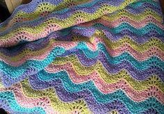 Pastel Heaven Baby Blanket