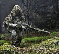 Airsoft hub is a social network that connects people with a passion for airsoft. Talk about the latest airsoft guns, tactical gear or simply share with others on this network The Sniper, Ghillie Suit, Sniper Airsoft, Sniper Gear, Military Gear, Military Weapons, Tactical Operator, Military Special Forces, Guns And Ammo